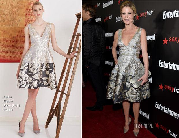 Julie Bowen In Lela Rose - Entertainment Weekly's Party Honouring The SAG Nominees