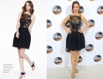 Juliette Lewis In Amanda Wakeley - Disney ABC Television Group's TCA Winter Press Tour