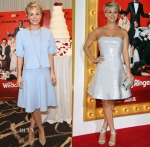 Kaley Cuoco In Jonathan Simkhai & Kaufmanfranco - 'The Wedding Ringer' LA Photocall & Premiere