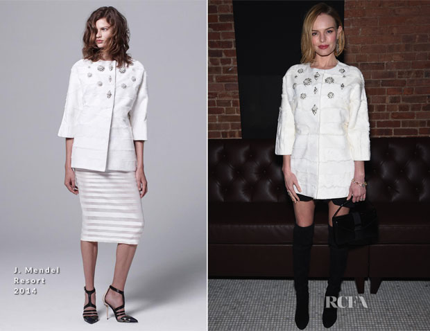 Kate Bosworth In J Mendel - 'Still Alice' Screening After-Party