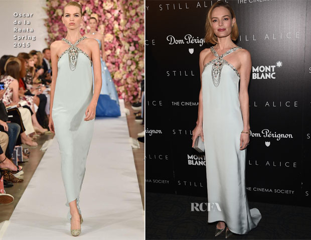 Kate Bosworth In Oscar de la Renta - 'Still Alice' New York Screening