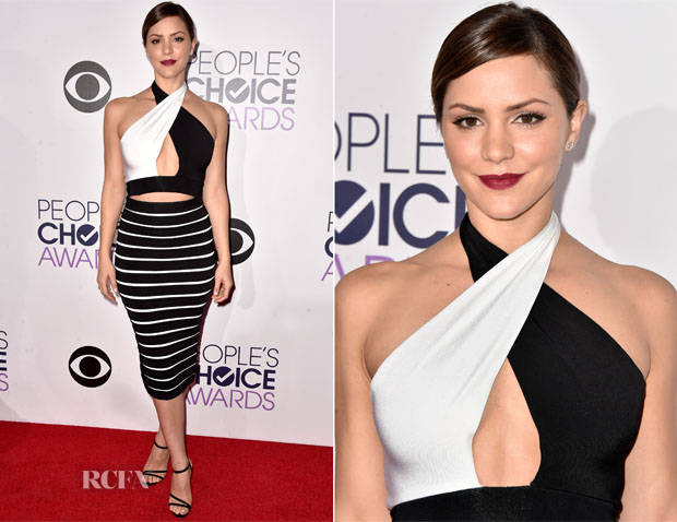 Katharine McPhee In Balmain - 2014 People's Choice Awards
