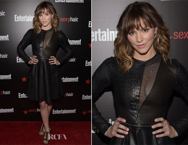 Katharine McPhee In Yigal Azrouël - Entertainment Weekly's Party Honouring The SAG Nominees