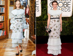 Keira Knightley In Chanel - 2015 Golden Globe Awards