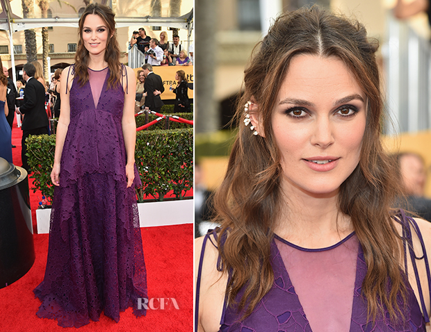 Keira Knightley In Erdem - 2015 SAG Awards