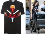 Kendall Jenner's Givenchy Masai T-Shirt