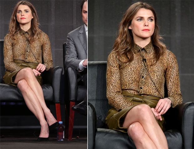 Keri Russell In Saint Laurent & Balenciaga - 'The Americans' Panel Discussion