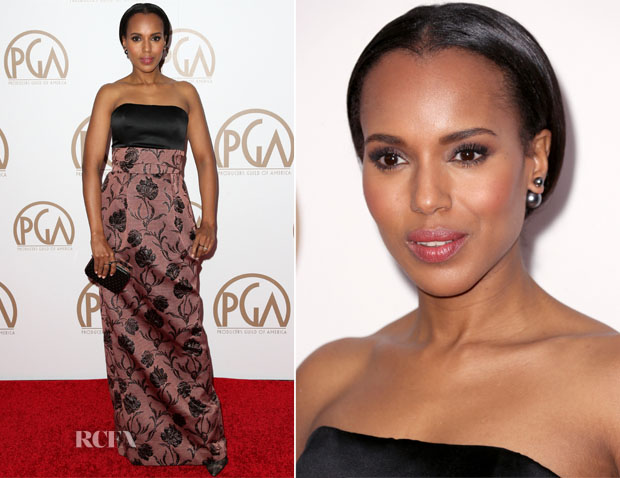 Kerry Washington In Prabal Gurung - 2015 Producers Guild Awards