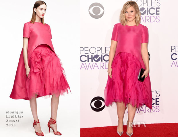 Kristen Bell In Monique Lhuillier - 2015 People's Choice Awards