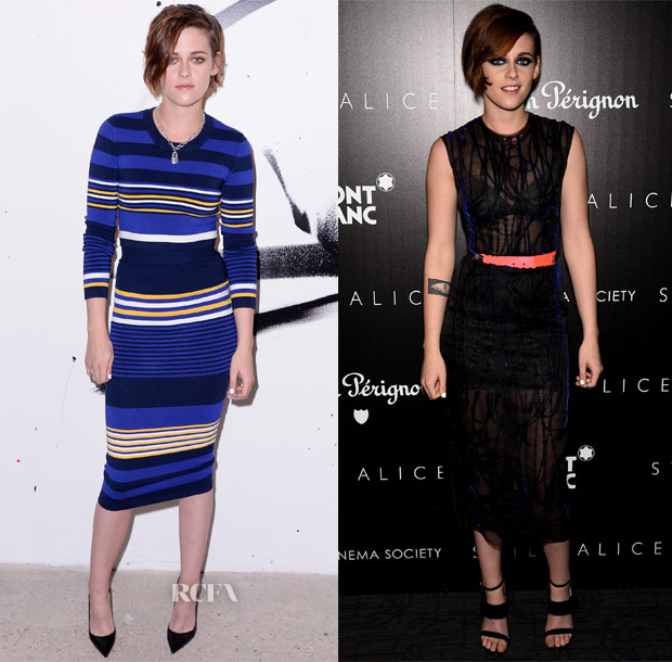 Kristen Stewart In Torn by Ronny Kobo & Roksanda - AOL's BUILD Speaker Series & 'Still Alice' New York Premiere