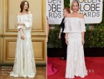 Kristin Wiig In Delphine Manivet - 2015 Golden Globe Awards
