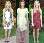Laura Carmichael, Eleanor Tomlinson & Joanne Froggatt - 'Wolf Hall' Celebration