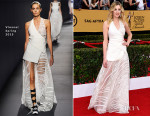Laura Carmichael In Vionnet - 2015 SAG Awards