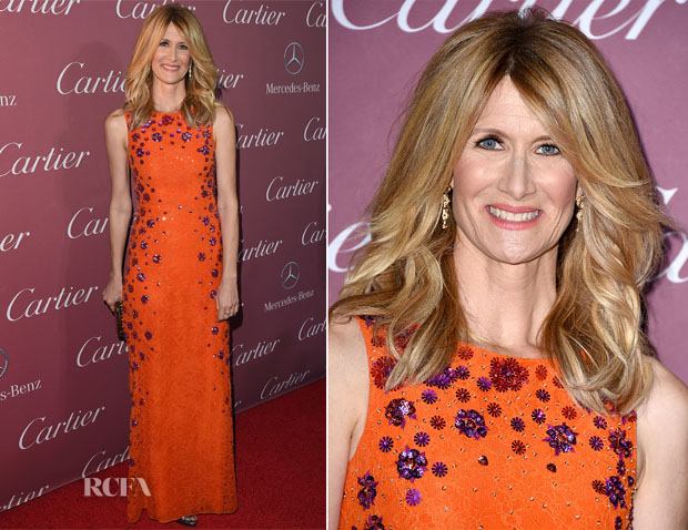 Laura Dern In Matthew Williamson - 26th Annual Palm Springs International Film Festival Awards Gala