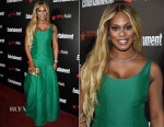 Laverne Cox In Halston - Entertainment Weekly's Party Honouring The SAG Nominees