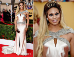 Laverne Cox In Johanna Johnson - 2015 SAG Awards