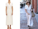 LeAnn Rimes' Étoile Isabel Marant Flore Long Wrap Dress