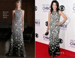 Lisa Edelstein In Naeem Khan - 2015 People's Choice Awards