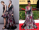 Lupita Nyong'o In Elie Saab - 2015 SAG Awards