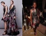 Lupita Nyong'o In Elie Saab - The Weinstein Company & Netflix's 2015 SAG After Party