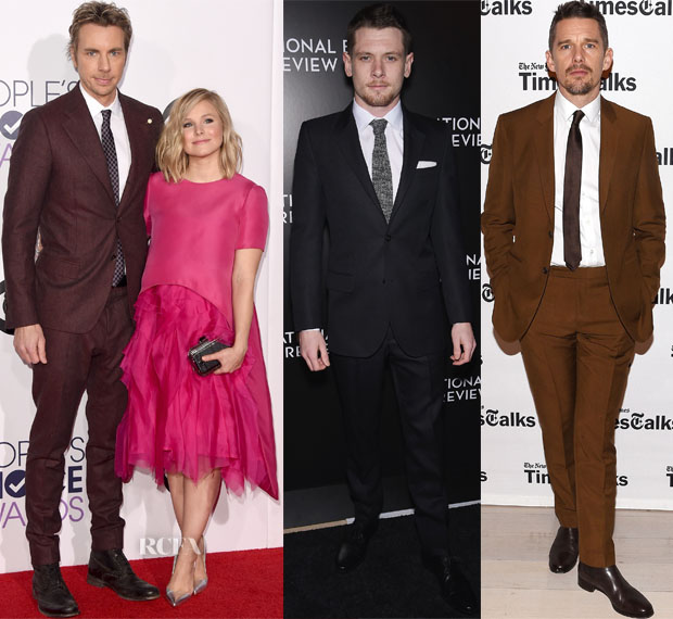 Menswear Red Carpet Roundup 8 jan2