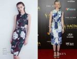 Mia Wasikowska In Josh Goot - 4th AACTA Awards Ceremony