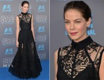 Michelle Monaghan In Elie Saab - 2015 Critics' Choice Movie Awards