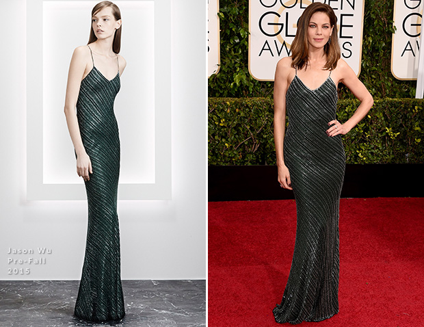 Michelle Monaghan In Jason Wu – 2015 Golden Globes