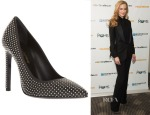 Nicole Kidman's Saint Laurent Paris Studded Pumps
