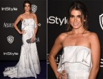 Nikki Reed In Katharine Kidd - 2015 InStyle and Warner Bros. Golden Globe Awards Post-Party