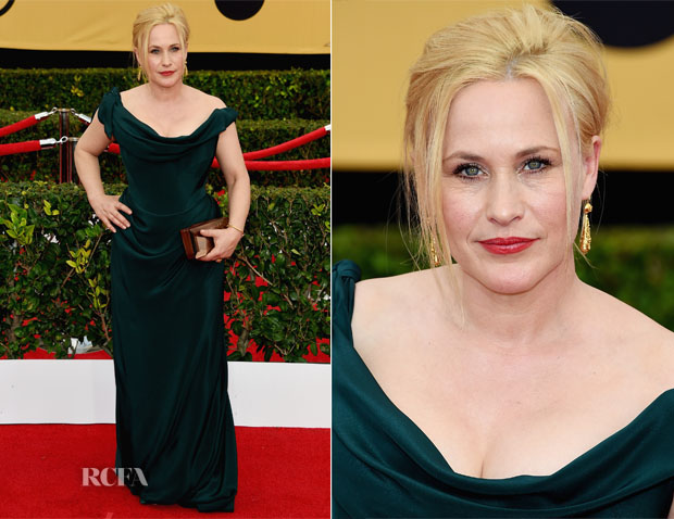 Patricia Arquette In Vivienne Westwood Couture - 2015 SAG Awards