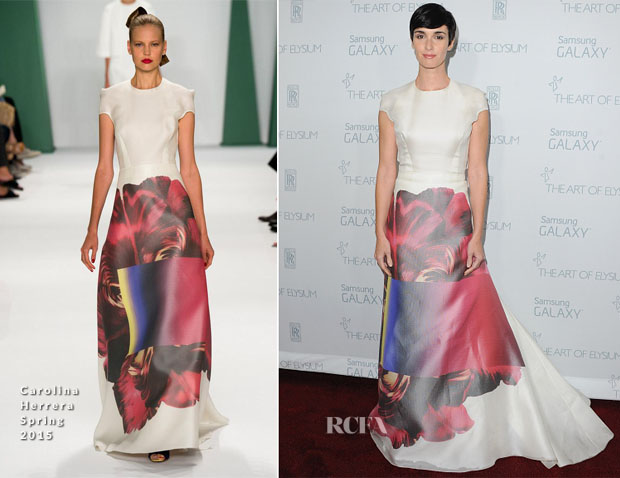 Paz Vega In Carolina Herrera - 2015 Art Of Elysium HEAVEN Gala