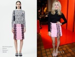 Pixie Lott In Christopher Kane - YSL Beaute Makeup Celebrate 'YSL Loves Your Lips'