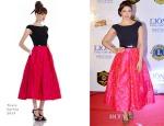 Priyanka Chopra In Theia - 21st Lion's Gold Awards