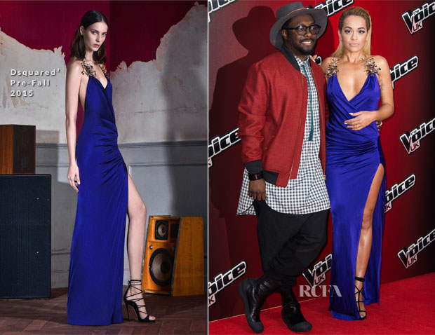Rita Ora In Dsquared² - The Voice UK Photocall