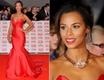 Rochelle Humes In Suzanne Neville - 2015 National Television Awards