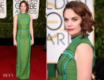 Ruth Wilson In Prada – 2015 Golden Globe Awards