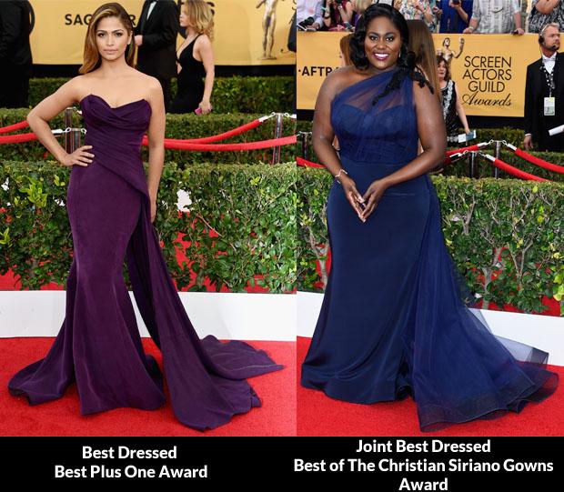 2015 SAG Awards Fashion Critics\' Roundup - Red Carpet Fashion Awards