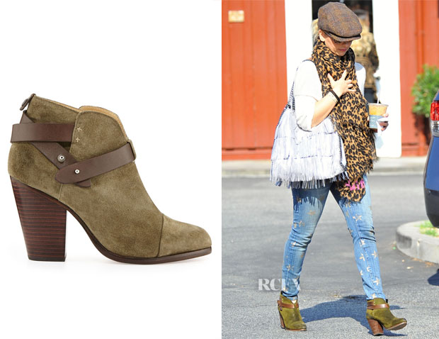Sarah Michelle Gellar's Rag & Bone Harrow Boot