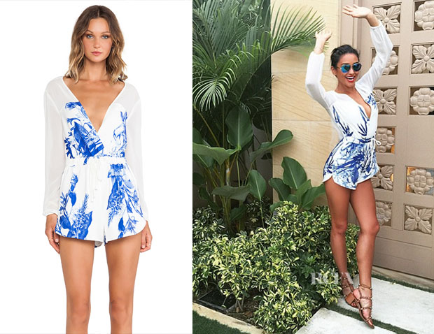 Shay Mitchell's StyleStalker Love On Top Romper