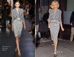 Sienna Miller In Altuzarra - The Daily Show with Jon Stewart