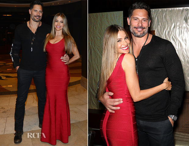 Sofia Vergara In Hervé Leger - New Years Eve Dinner Party