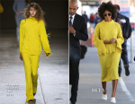 Solange Knowles In Marques Almeida - LAX