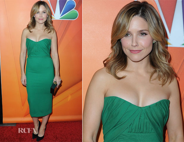 Sophia Bush In Dsquared² - NBCUniversal 2015 Press Tour