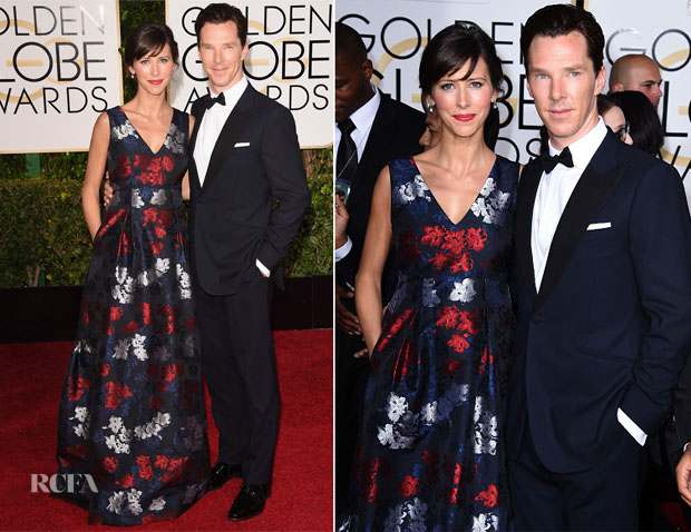 Sophie Hunter In Erdem - 2015 Golden Globe Awards