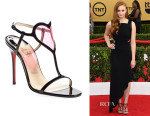 Sophie Turner's Christian Louboutin Cora' Patent Leather Sandals