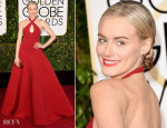 Taylor Schilling In Ralph Lauren – 2015 Golden Globe Awards
