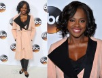 Viola Davis In Max Mara - ABC TCA 'Winter Press Tour 2015'