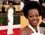 Viola Davis In MaxMara - 2015 SAG Awards