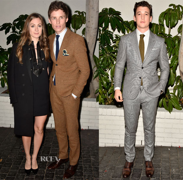 W Magazine's Golden Globe Parties Menswear Roundup